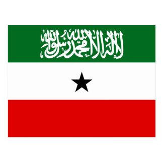 Cartão Postal Bandeira nacional do mundo de Somaliland