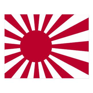 Cartão Postal Bandeira naval de Japão, Japão