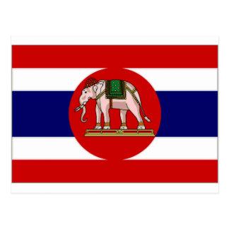 Cartão Postal Bandeira naval de Tailândia