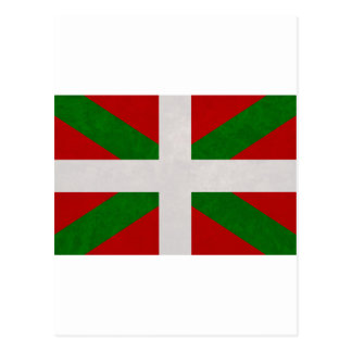 Cartão Postal Bandeira Pays Basque Euskadi