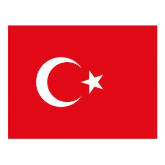 Cartão Postal Bandeira turca