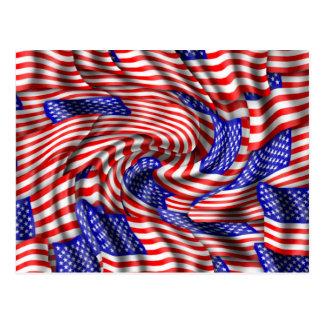 Cartão Postal Bandeiras