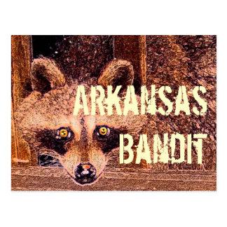 Cartão Postal Bandido de Arkansas
