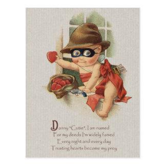 Cartão Postal Bandido do bebê que rouba os corações CC0862 Danny