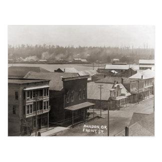 Cartão Postal Bandon OU cerca de 1900