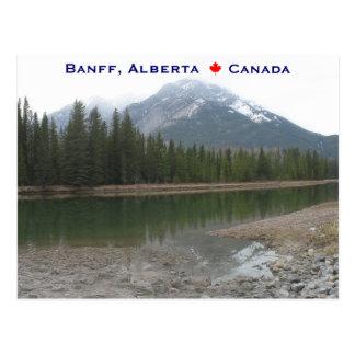 Cartão Postal Banff Alberta Canadá