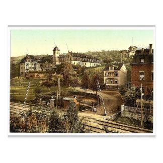 Cartão Postal Banhos de Marienberg, Boppard, o Rhine, Alemanha r