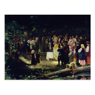 Cartão Postal Banquete da transfiguração de nosso senhor