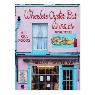 Cartão Postal Bar de ostra de Whitstable