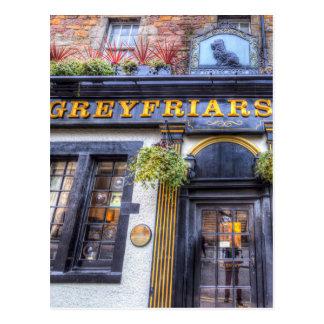 Cartão Postal Bar Edimburgo de Greyfriars Bobby