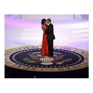 Cartão Postal Barack e Michelle Obama