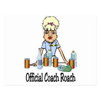 Cartão Postal Barata do treinador
