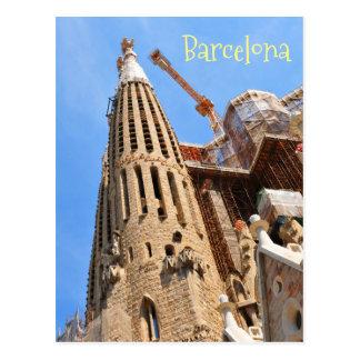 Cartão Postal Barcelona