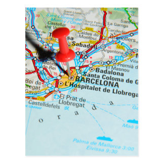 Cartão Postal Barcelona, espanha