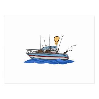 Cartão Postal Barco de pesca