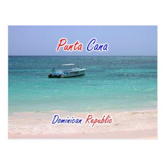Cartão Postal Barco de Punta Cana