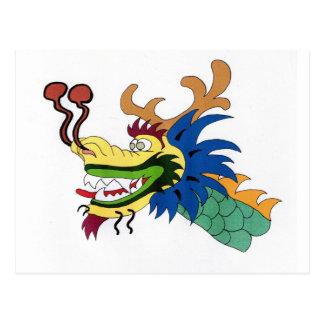 Cartão Postal Barco do dragão