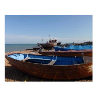 Cartão Postal Barcos de pesca em Kent