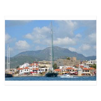 Cartão Postal Barcos de turista em Turquia