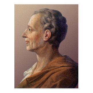Cartão Postal Baron de Montesquieu