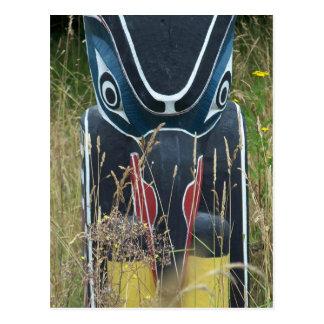 Cartão Postal Base de pólo de Totem