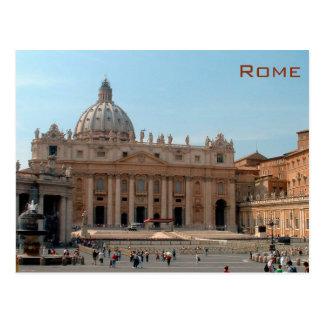 Cartão Postal Basílica de Roma - de St Peter