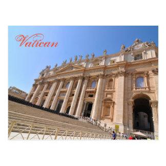 Cartão Postal Basílica de San Pietro no vaticano, Roma, Italia