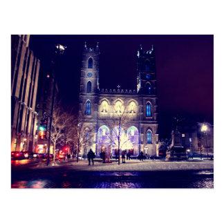Cartão Postal Basílica Notre-Dame de Montreal
