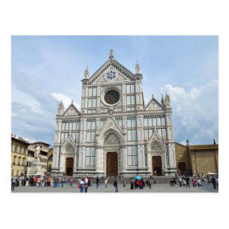 Cartão Postal Basílica Santa Croce