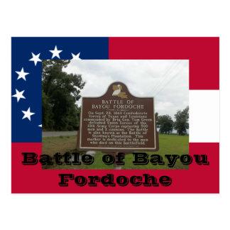 Cartão Postal Batalha da albufeira Fordoche