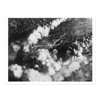 Cartão Postal Batalha de Grâ Bretanha & do raio: Docas #19 no