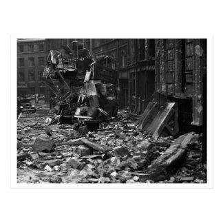 Cartão Postal Batalha de Grâ Bretanha & do raio: O raio #13