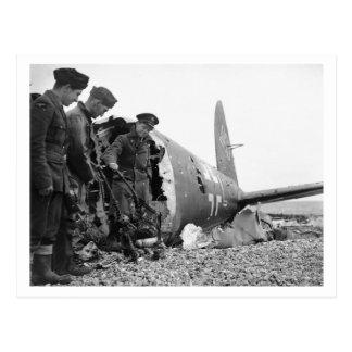 Cartão Postal Batalha de Grâ Bretanha & do raio: Troféus da