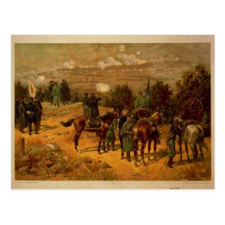 Cartão Postal Batalha de guerra civil de Chattanooga americana