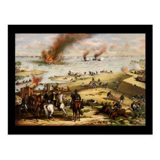Cartão Postal Batalha de Hampton Roads