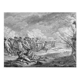 Cartão Postal Batalha de Lexington, 'dos d'Estampes de Recueil