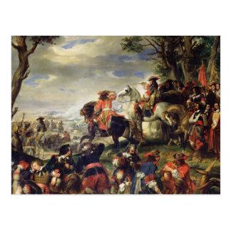 Cartão Postal Batalha de Marselha, o 4 de outubro de 1693, 1837