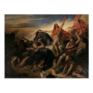 Cartão Postal Batalha de Tolbiac no ANÚNCIO 496, 1837