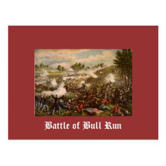 Cartão Postal Batalha do funcionamento de Bull