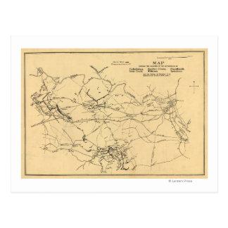 Cartão Postal Batalha do tribunal do Spotsylvania