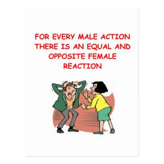 Cartão Postal batalha dos sexos