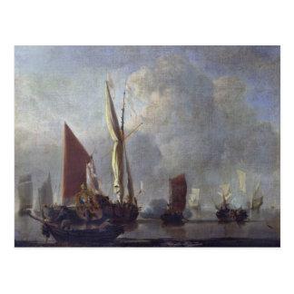Cartão Postal Batalha naval