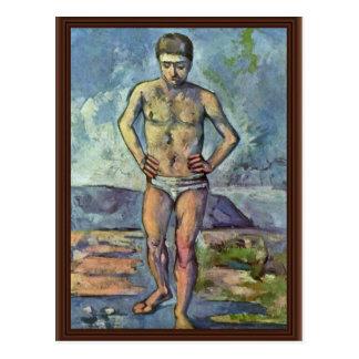 Cartão Postal Bathers por Paul Cézanne (a melhor qualidade)