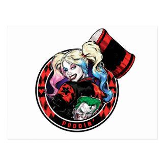 Cartão Postal Batman | Harley Quinn que pisc com malho