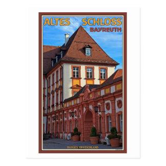 Cartão Postal Bayreuth - Altes Schloss