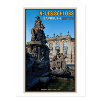 Cartão Postal Bayreuth - Neues Schloss