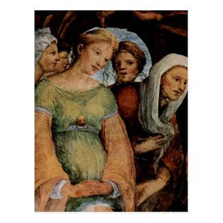 Cartão Postal Beccafumi, hl do DES de Domenico Fresken im