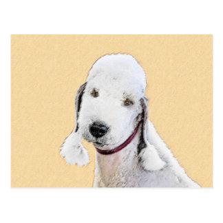 Cartão Postal Bedlington Terrier 2