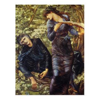 Cartão Postal Beguiling de Merlin