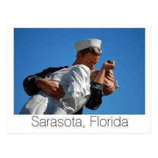 Cartão Postal Beijando o marinheiro, Sarasota
